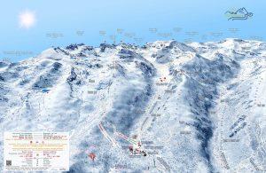 Malyovitsa Winter 3D Map - Malyovitsa Ski